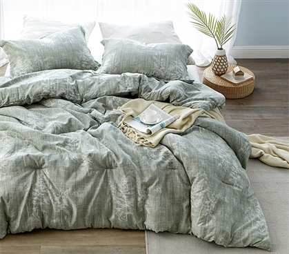 Woodlands Twin XL Comforter - 100% Yarn Dyed Cotton