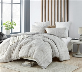 Designer Extra Long Twin Comforter Set Zaw Zen Essential Dorm Bedding Made with Super Soft Cotton