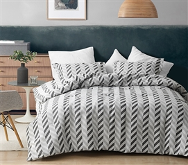 Magnus Grays - Jacquard Twin XL Comforter