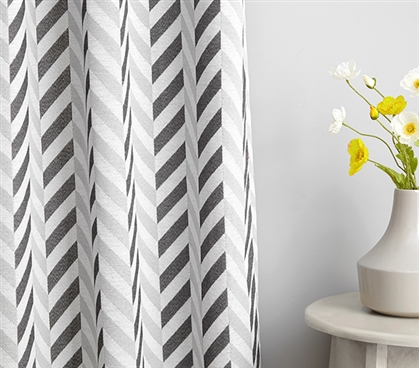 College Privacy Room Divider Fabric Magnus Gray Microfiber Jacquard College Privacy Fabric