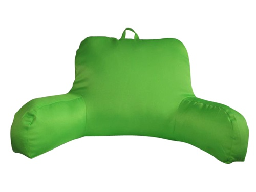 Lime Green Neon Bed Rest Bright Lime Green Extra Plush Backrest