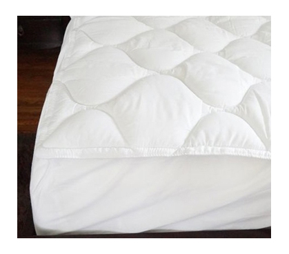 Dorm Bedding XL Topper - USA Made Fiberbed - Add A Big Layer Of Comfort