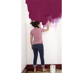 Paintable Peel N Stick Wallpaper - 100% Removable - Do It Yourself College Wall Decorating Ideas