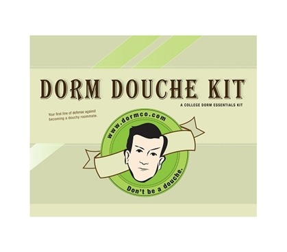 Dorm Douche Kit Package - College Life Preparedness Essentials Checklist