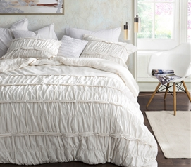 Torrent - Handcrafted Series Twin XL Comforter - Jet Stream