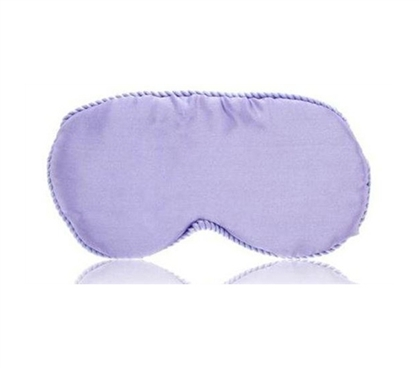 Silk Sleep Eye Mask - Lavender - Bedding Accessories - Dorm Supplies