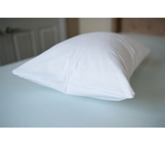 Cotton Terry Pillow Cover Standard Pillow Cover