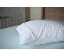 French Fold Pillow Cover Dorm Bedding Twin XL Bedding