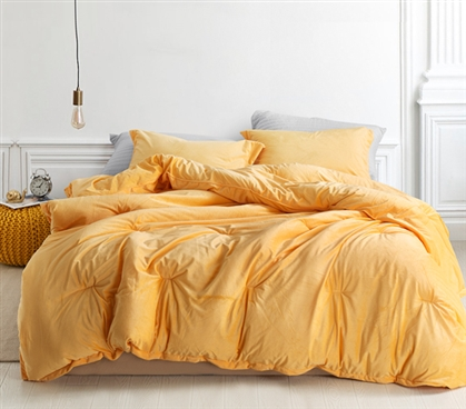 Ultra Plush Coma Induce College Bedding Set Stylish Mimosa Twin XL Dorm Bedding Ideas