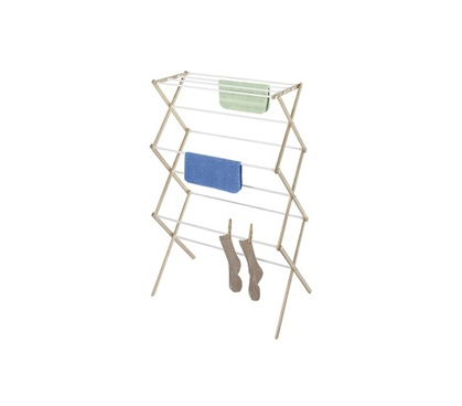 Set It Up Right In Your Dorm - Wood Drying Rack - Necessary For Air Drying