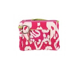 Ikat Pink Student ID Case