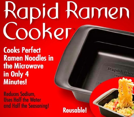 Rapid Ramen Cooker College Cooking Useful Quick Meals Easy