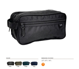 Zippered Compartments - Community Bathroom Toiletry Case - Carry All Your Shower Stuff