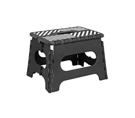 "Bunk Bed and Loft Bed Step Stool - 9"" Black - Dorm Essential"