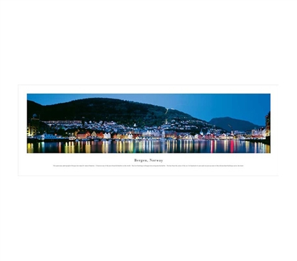 Bergen, Norway - Panorama