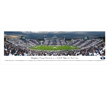 Brigham Young University - LaVell Edwards Stadium Panorama Dorm Room Decorations