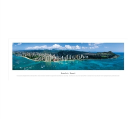 Honolulu, Hawaii - Panorama