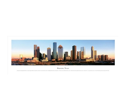 Houston, Texas - Afternoon Panorama