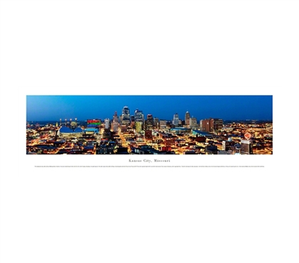 Kansas City, Missouri - Skyline Panorama