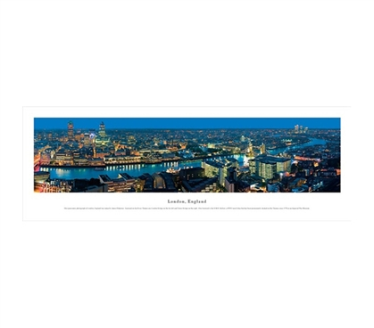 London, England - Lights Panorama