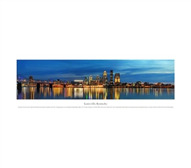 Louisville, Kentucky - Twilight Panorama