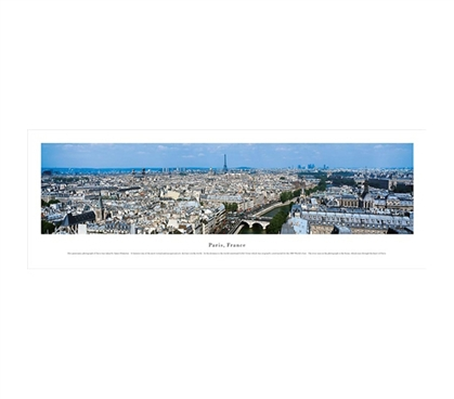 Paris, France - Skyline Panorama