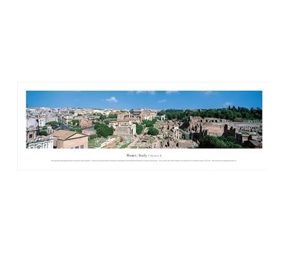 Rome, Italy - Ancient Panorama