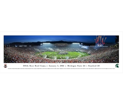 College Wall Decor 100th Rose Bowl Game - January 1, 2014 Panorama Dorm Room Wall Decorations