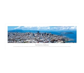 San Francisco, California - Aerial Panorama