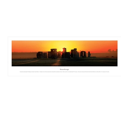 Stonehenge Sunset - Panorama