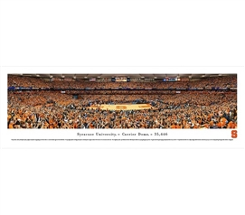 Sports Posters - Syracuse University - Carrier Dome Panorama - Decor For Dorms