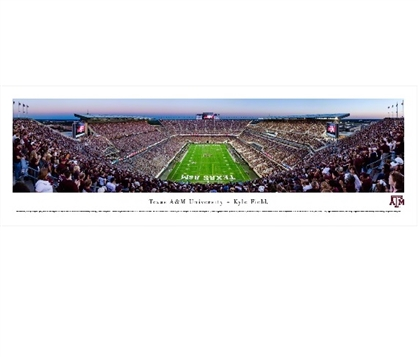 Texas A&M - Kyle Field Panorama Dorm Room Decorations