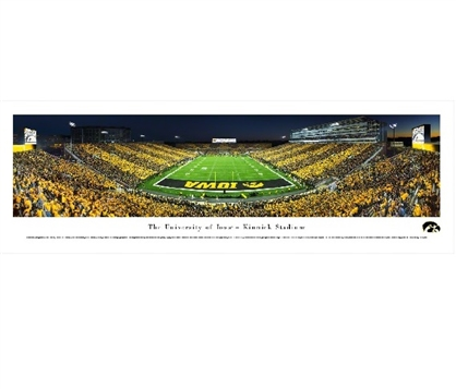 Dorm Room Decorations Iowa Hawkeyes - Kinnick Stadium Panorama