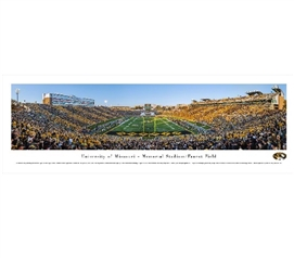 Dorm Room Decorations University of Missouri - Memorial Stadium/Faurot Field Panorama Dorm Room Decor