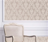 Damsel Textured Bisque Designer Removable Wallpaper for Dorms Dorm Room Decorations College Wall Decor