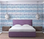 Fade Cloud Designer Removable Wallpaper For Dorms College Wall Decor