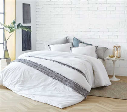 Boa Noite - 200TC Washed Percale Twin XL Duvet Cover