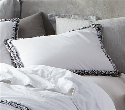Boa Noite - 200TC Washed Percale Sham