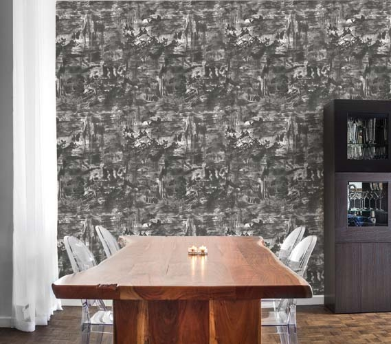 Village Shadow Designer Removable Wallpaper Part 85