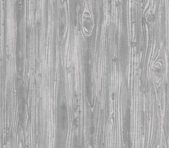 Wood Grain Wallpaper woodgrain textured pewter designer removable wallpaper for dorms