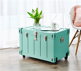Bolt Trunks - Mint (Extra Roomy College Footlocker) Dorm Essentials