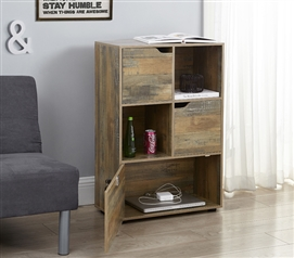 Locking Safe Wood Storage for Dorm College Furniture Ideas for Small Dorm Shabby Chic Bookshelf
