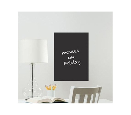 Black Message Board - Peel N Stick - Dorm Supplies