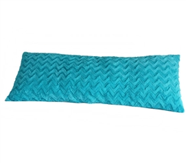College Plush Body Pillow - Aqua Dorm Essentials College Supplies