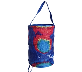 Blue Tie Dye Pop Up Dorm Caddy Shower Caddies for College Students Dorm Essentials
