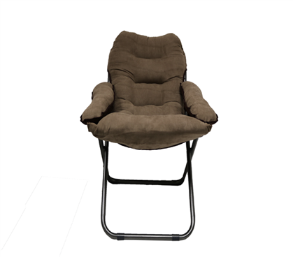 Comfortable Dorm Room Seating Essential College Club Dorm Chair Brown Extra Tall and Plush