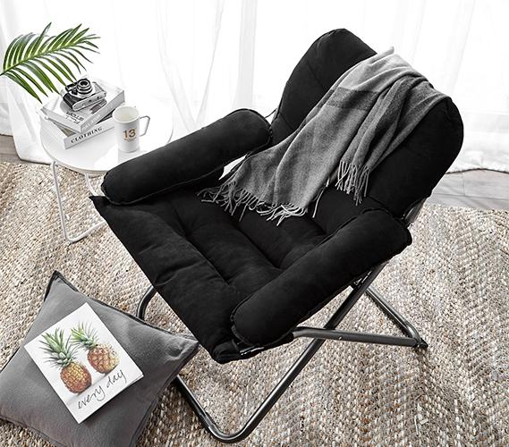 College Club Dorm Chair Plush Extra