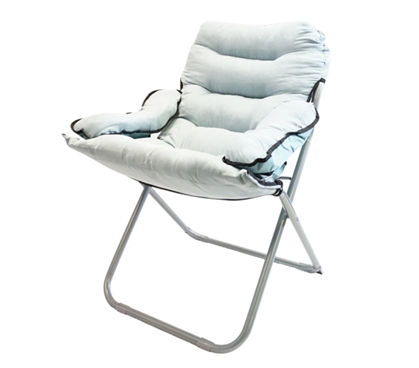College Club Dorm Chair - Plush & Extra Tall - Stone Gray - Thick And Padded