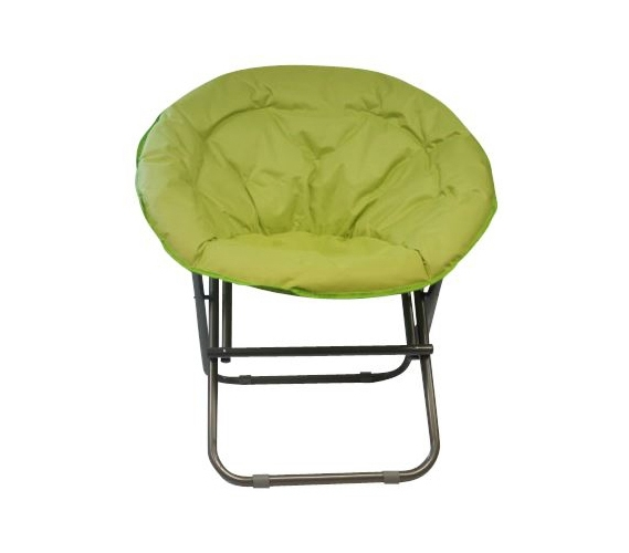 Superieur Comfort Padded Moon Chair   Lime