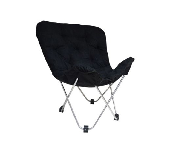 Dorm Lounge Chairs   Oversized Butterfly Chair   Black   Additional Seating Part 78